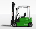 Discover CESAB Material Handling electric 4 wheel counterbalanced trucks